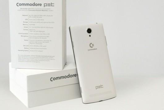 Commodore ha lanciato PET, il suo smartphone
